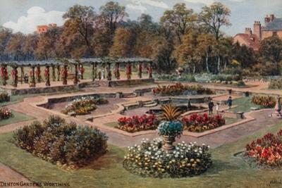Denton Gardens, Worthing by Alfred Robert Quinton