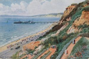 East Cliff and Zig Zag, Bournemouth by Alfred Robert Quinton