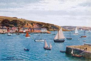 Flushing from Greenbank Ferry, Falmouth by Alfred Robert Quinton