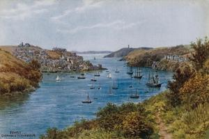 Fowey, Entrance to Harbour by Alfred Robert Quinton