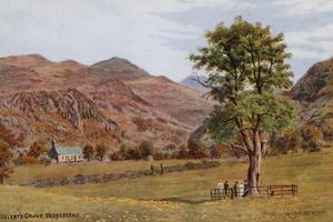Gelert's Grave, Beddgelert by Alfred Robert Quinton