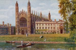 Kings College Chapel, Cambridge by Alfred Robert Quinton