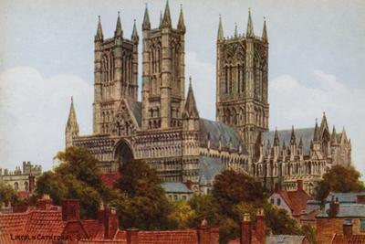 Lincoln Cathedral, Sw by Alfred Robert Quinton