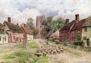 Monks Eleigh, Suffolk by Alfred Robert Quinton