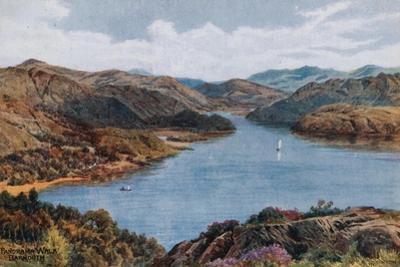Panorama Walk, Barmouth by Alfred Robert Quinton