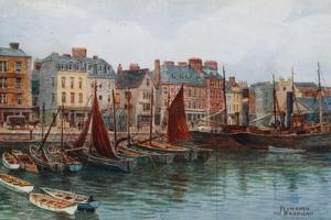 Plymouth, the Barbican by Alfred Robert Quinton