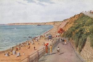 Sands and Cliffs, Southbourne by Alfred Robert Quinton