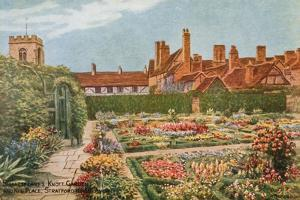 Shakespeare's Knott Garden and New Place, Stratford-Upon-Avon by Alfred Robert Quinton