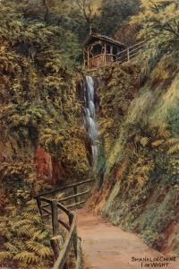 Shanklin Chine, Isle of Wight by Alfred Robert Quinton
