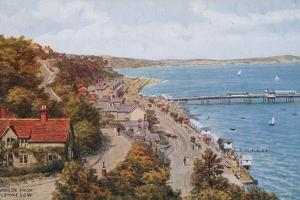 Shanklin, from Rylstone, I O W by Alfred Robert Quinton