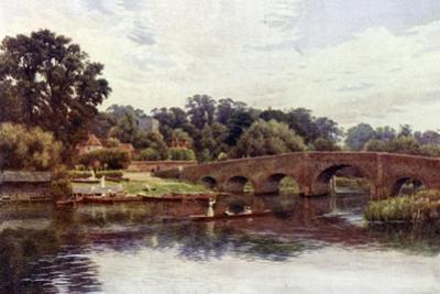 Sonning Bridge by Alfred Robert Quinton