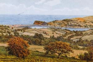 Teignmouth and Shaldon, from Haldon Moor by Alfred Robert Quinton