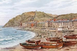 The Beach, Aberystwyth by Alfred Robert Quinton