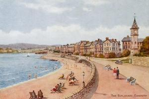 The Esplanade, Exmouth by Alfred Robert Quinton