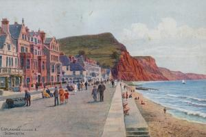 The Esplanade, Looking E, Sidmouth by Alfred Robert Quinton