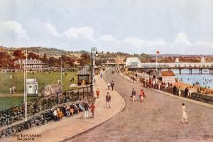 The Esplanade, Paignton by Alfred Robert Quinton
