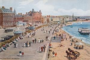 The Esplanade, Weymouth by Alfred Robert Quinton