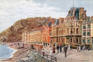 The Promenade, Aberystwyth by Alfred Robert Quinton