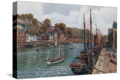The Quay, Looe by Alfred Robert Quinton