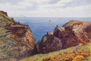Tintagel, Island and Keep by Alfred Robert Quinton