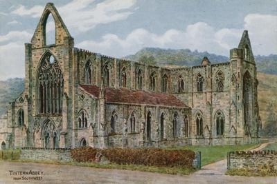 Tintern Abbey, from South West