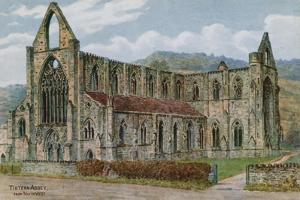 Tintern Abbey, from South West by Alfred Robert Quinton