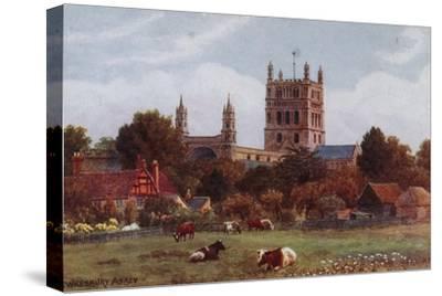 Twekesbury Abbey by Alfred Robert Quinton