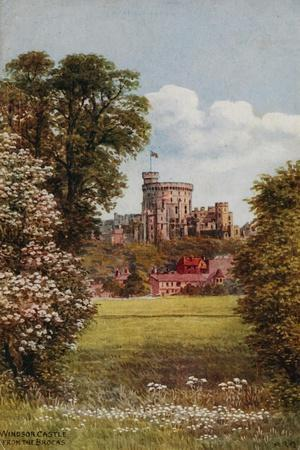 Windsor Castle from the Brocks