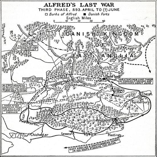 'Alfred's Last War - Third Phase, 893. April to (?) June', (1935)-Unknown-Giclee Print