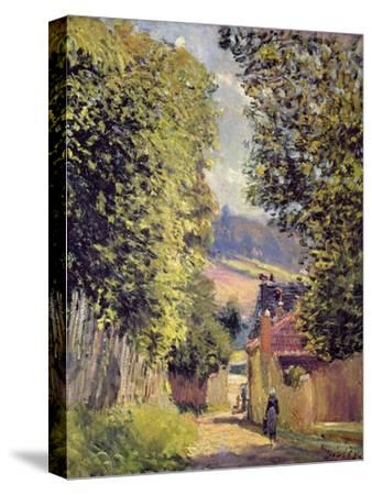 A Road in Louveciennes, 1883