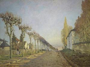 Chemin De La Machine (Or: La Route Du Chemin De Sevres), 1873 by Alfred Sisley
