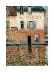 Flood at Port Marly by Alfred Sisley