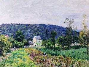 Hills Surrounding Paris, 1879 by Alfred Sisley