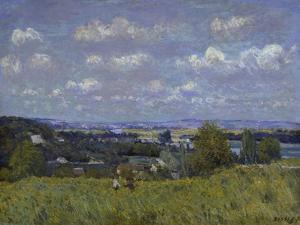 La Combe De La Seine a Saint-Cloud.1876 by Alfred Sisley