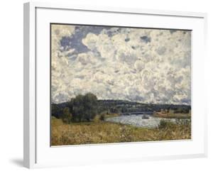 la Seine à Suresnes (Hauts de Seine) by Alfred Sisley