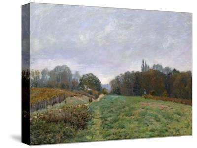 Landscape at Louveciennes, 1873