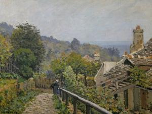 Louveciennes, Sentier De La Mi-Cote, circa 1873 by Alfred Sisley