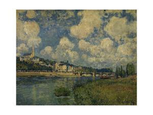 Saint-Cloud, 1877 by Alfred Sisley