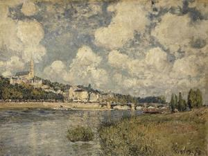 Saint-Cloud by Alfred Sisley
