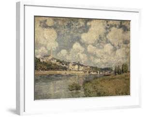 Saint-Cloud by Alfred Sisley