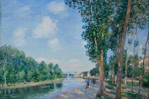 Saint-Mammès. June Sunshine, 1892 by Alfred Sisley