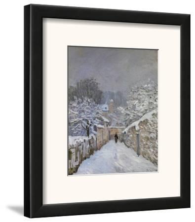 Snow at Louveciennes, France, c.1878