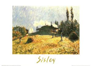 Station at Sevres by Alfred Sisley