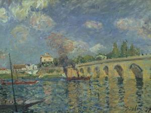 The Bridge, 1871 by Alfred Sisley