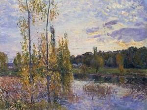 The Lake at Chevreuil, 1888 by Alfred Sisley