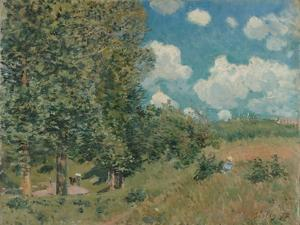 The Road from Versailles to Saint-Germain, 1875 by Alfred Sisley