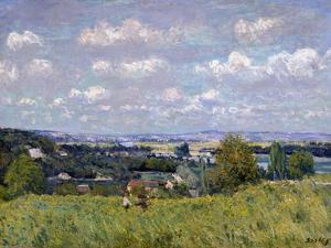 The Valley of the Seine at Saint-Cloud, 1875 by Alfred Sisley