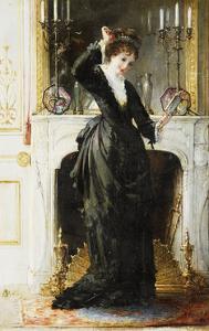 In the Boudoir by Alfred Stevens