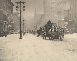 A Dreary Day, 1893 by Alfred Stieglitz