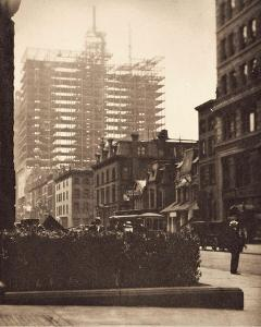 Old and New New York, 1910 by Alfred Stieglitz